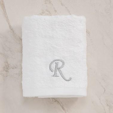 Chakra Solid Havlu (R) Beyaz Beyaz